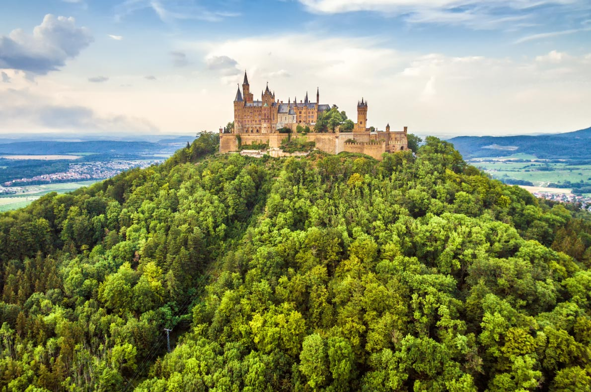 Best castles in Germany - Hohenzollern Castle copyright Viacheslav-Lopatin - European Best Destinations