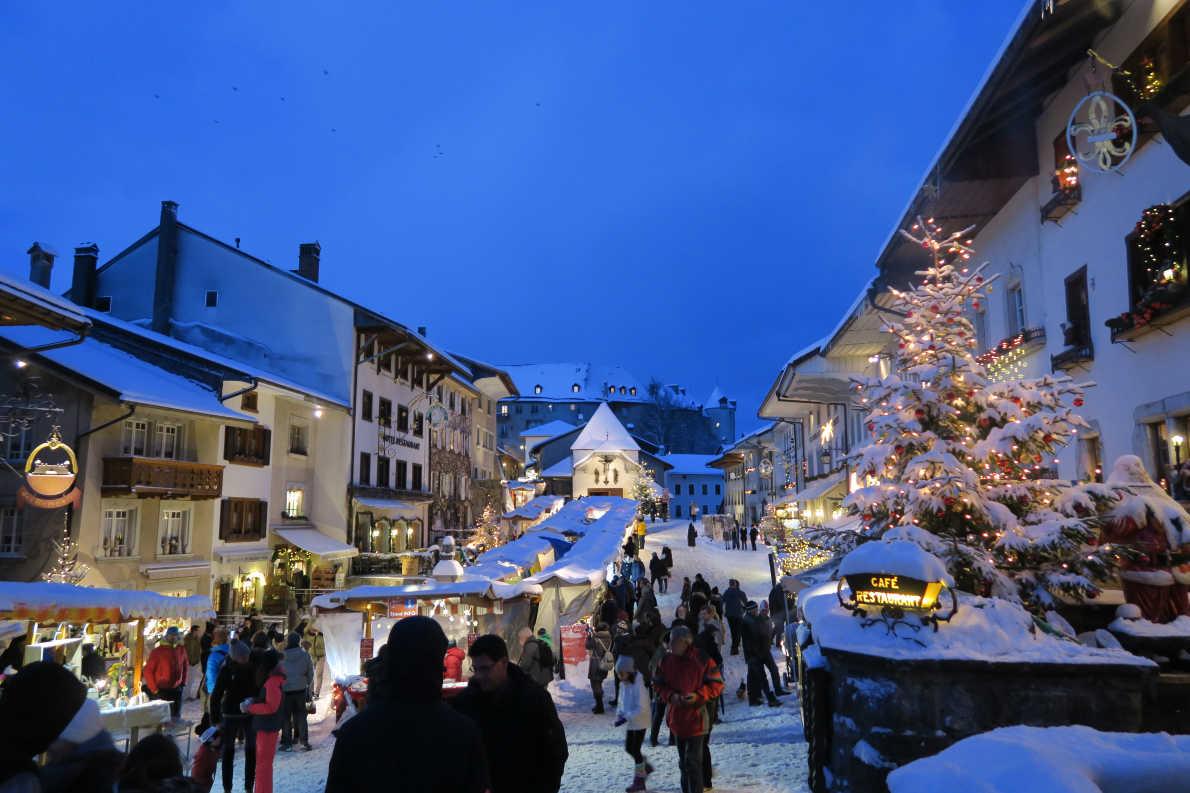 Best Christmas Markets in Switzerland - Gruyere @La Gruyère Tourisme  - European Best Destinations