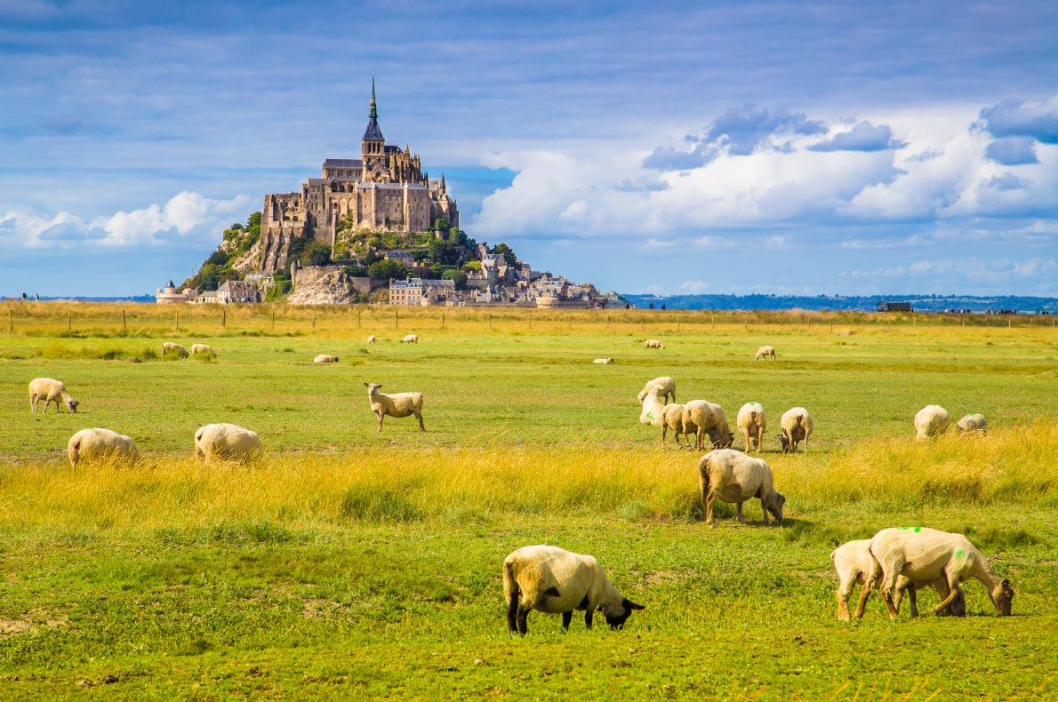 Best things to do in France - Mont St Michel Copyright  canadastock  European Best Destinations