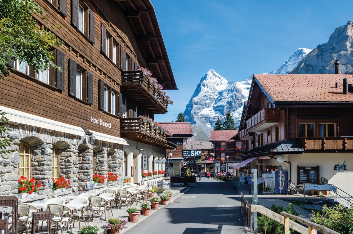 Most beautiful ski villages in Europe - Murren - Copyright  Boris-B  - European Best Destinations