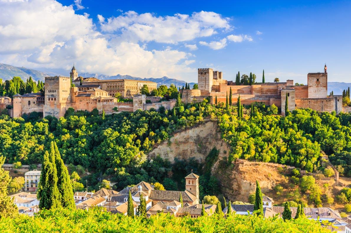 Best Castles in Europe - Alhambra of Grenada Copyright  emperorcosar - European Best Destinations