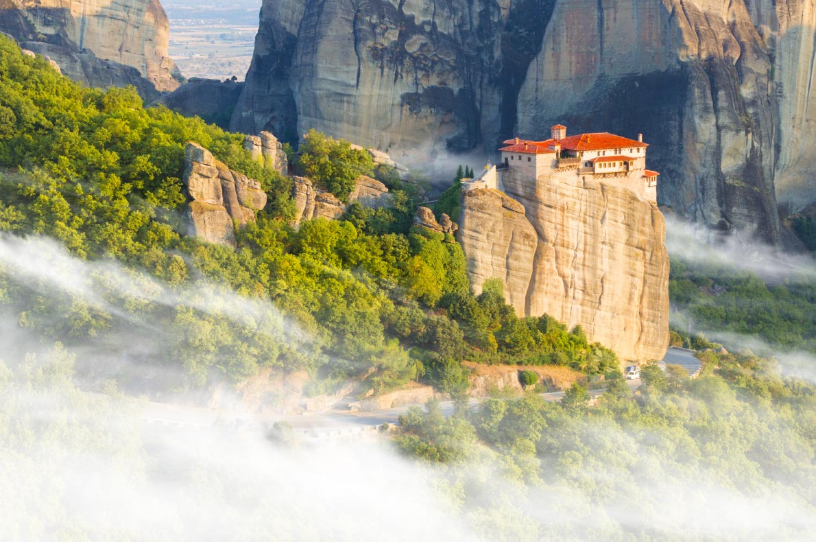 Covid 19 Safest destinations in Europe - Meteora copyright proslgn - European Best Destinations