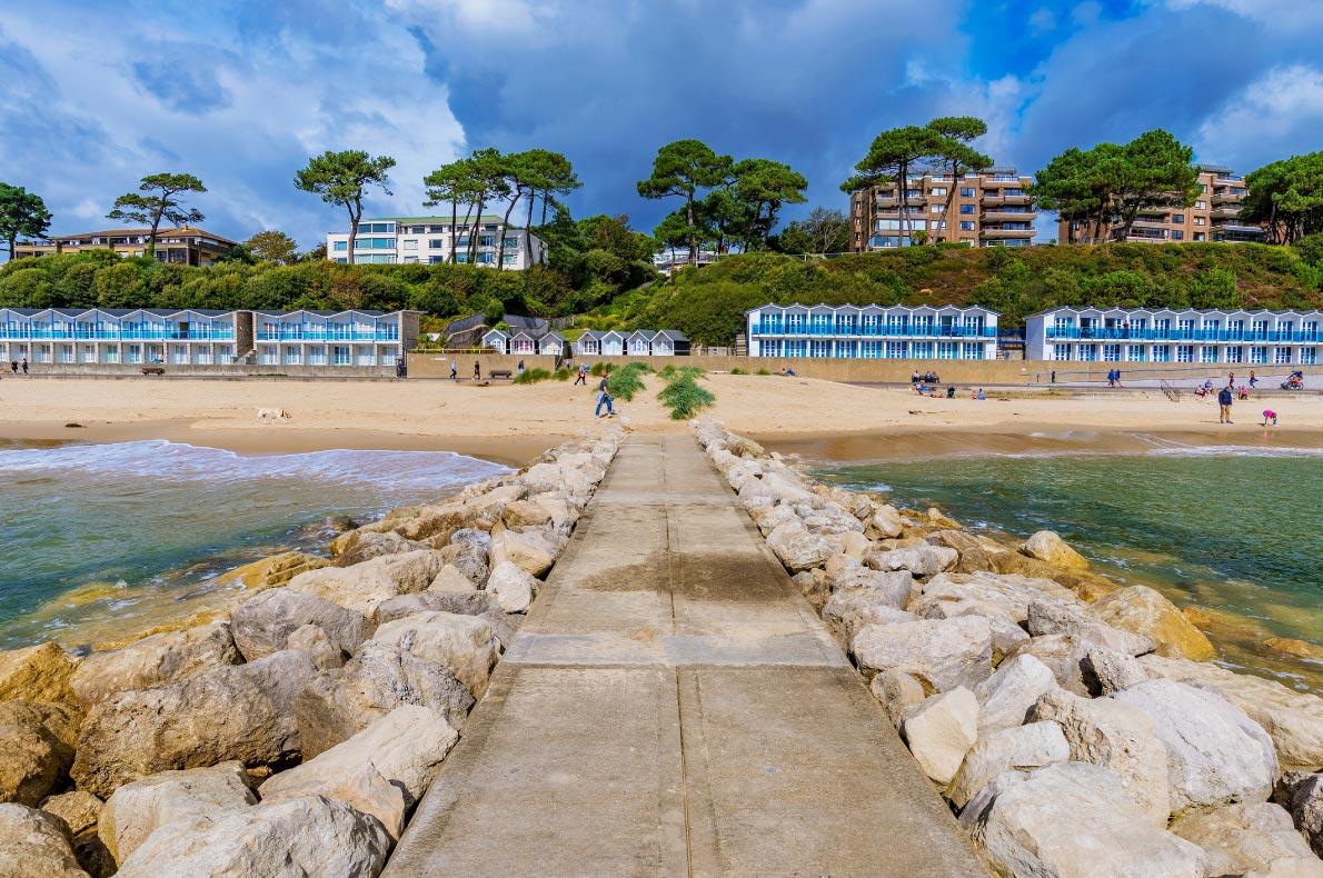 Best beaches in England - Bournemouth beach in England copyright  asiastock - European Best Destinations