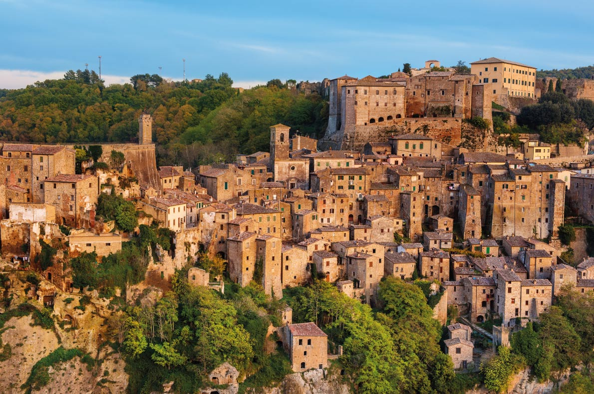Sorano - Best hidden gems in Europe - Roxana Bashyrova - European Best destinations