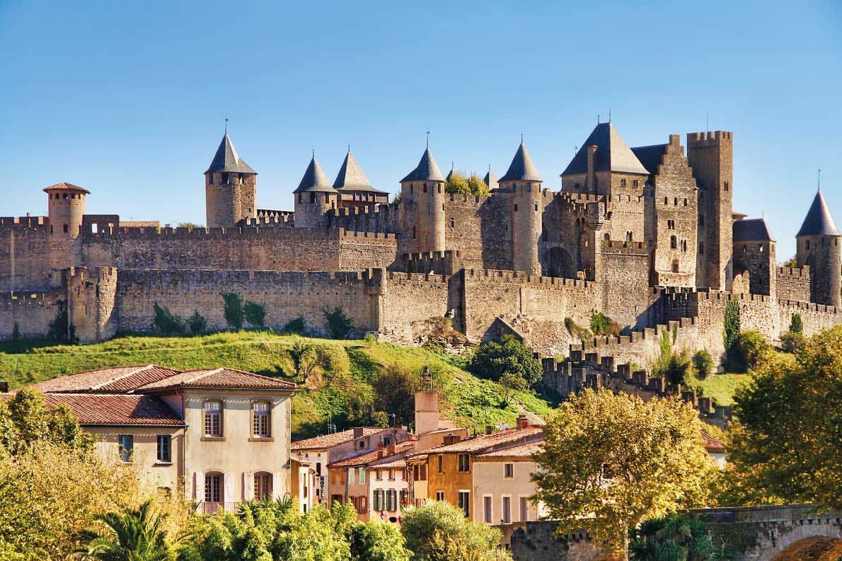 Best fortified destinations in Europe  Castle of Carcassonne, France Copyright Rolf E. Staerk - European Best Destinations