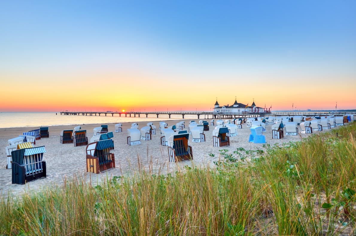 Best beaches in Germany - Usedom Beach copyright Usedom - European Best Destinations