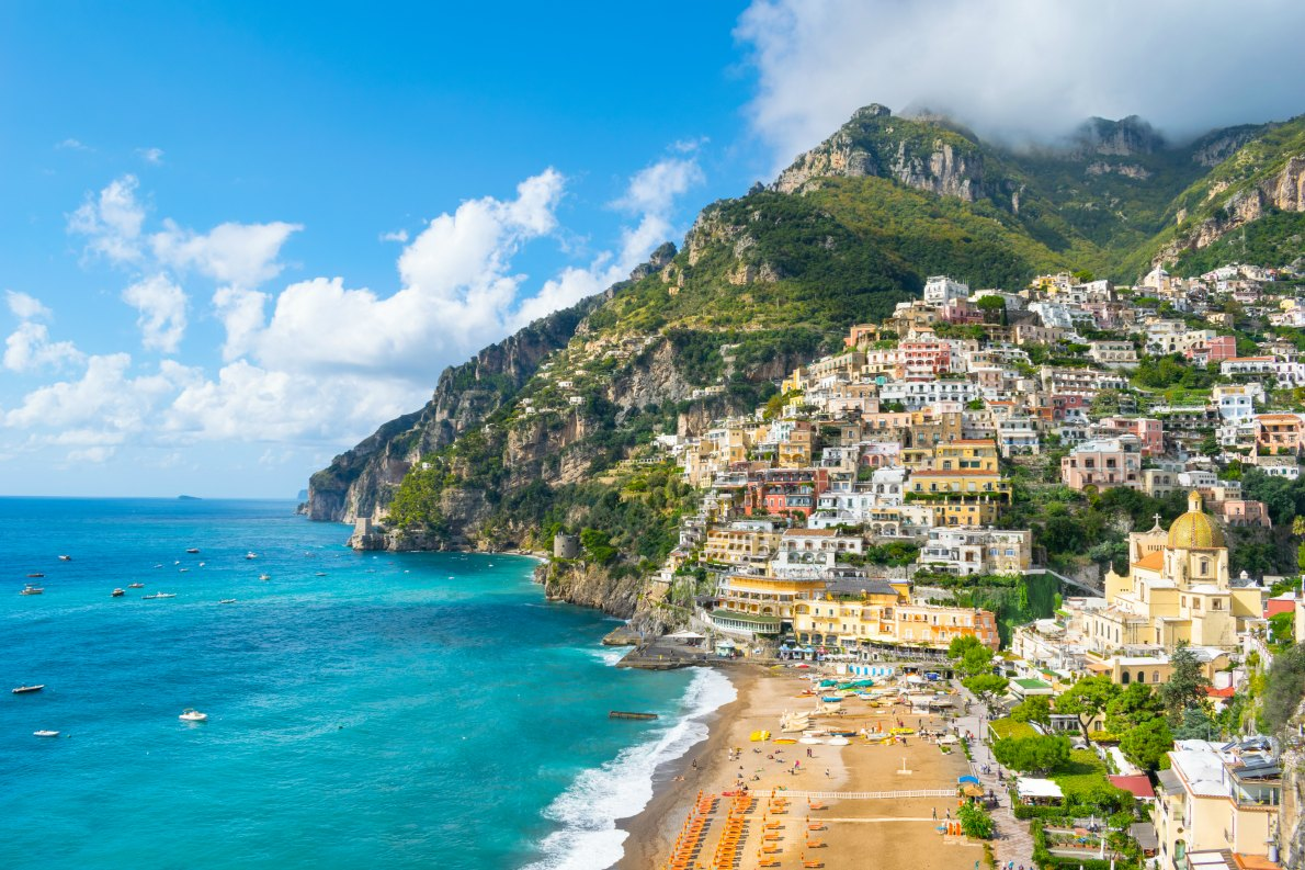 Best beaches in Italy - Positano beach copyright Nido Huebl - European Best Destinations