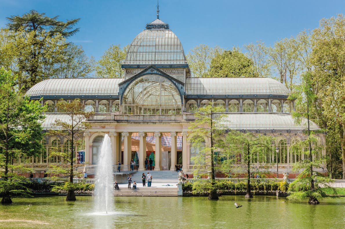 Crystal Palace in Madrid - Best destinations for a wedding proposal - Copyright Sergey Peterman - European Best Destinations