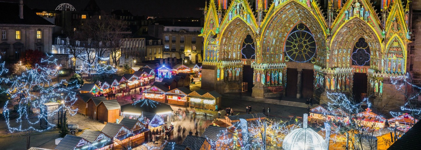 Reims Christmas Market 2020, opening