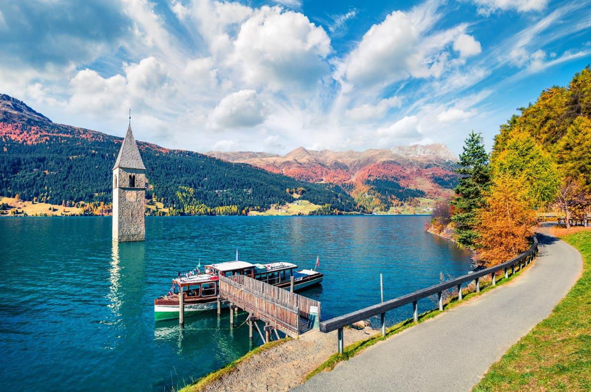 Best natural wonders in Europe - Resia Lake copyright  Andrew Mayovskyy - European Best Destinations