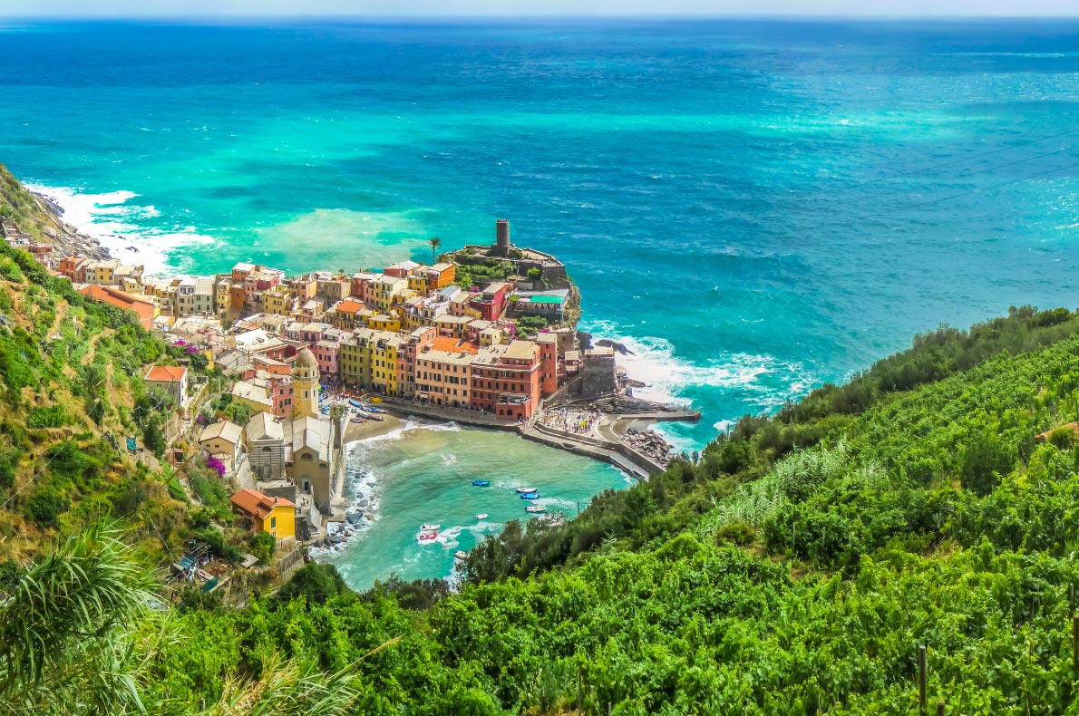 Best hidden gems in Italy - Cinque Terre, Liguria, Italy  - Copyright Canadastock - European Best Destinations