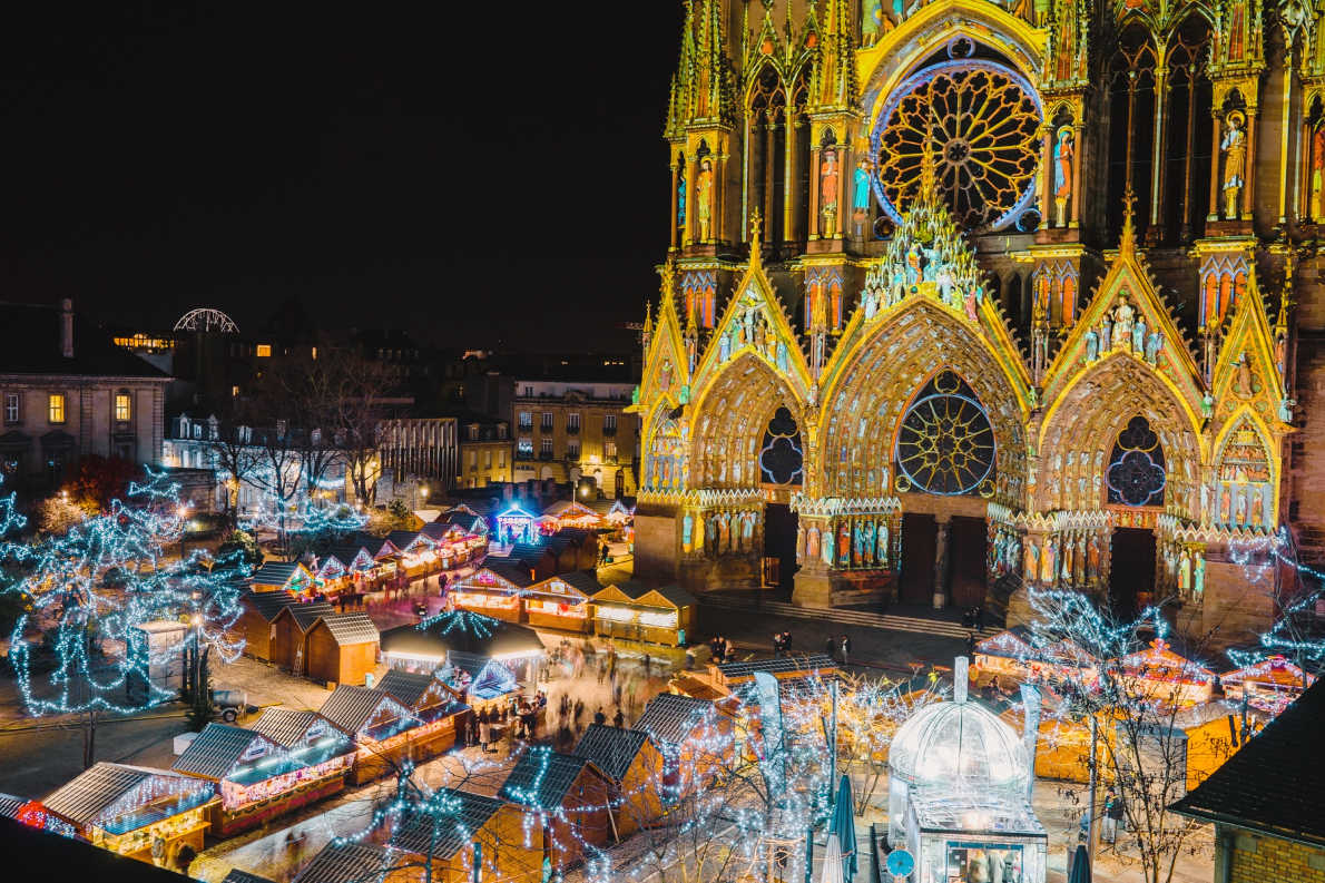 Best Christmas Market in France - Reims Christmas Market  Copyright Cyril Beudot - European Best Destinations