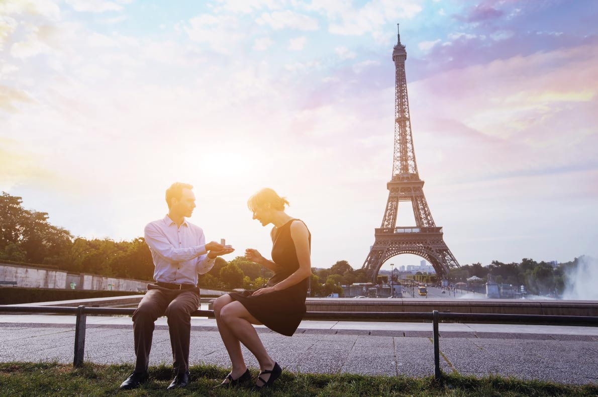 Eifel Tower  - Best destinations for a wedding proposal - Copyright Ditty_about_summer - European Best Destinations