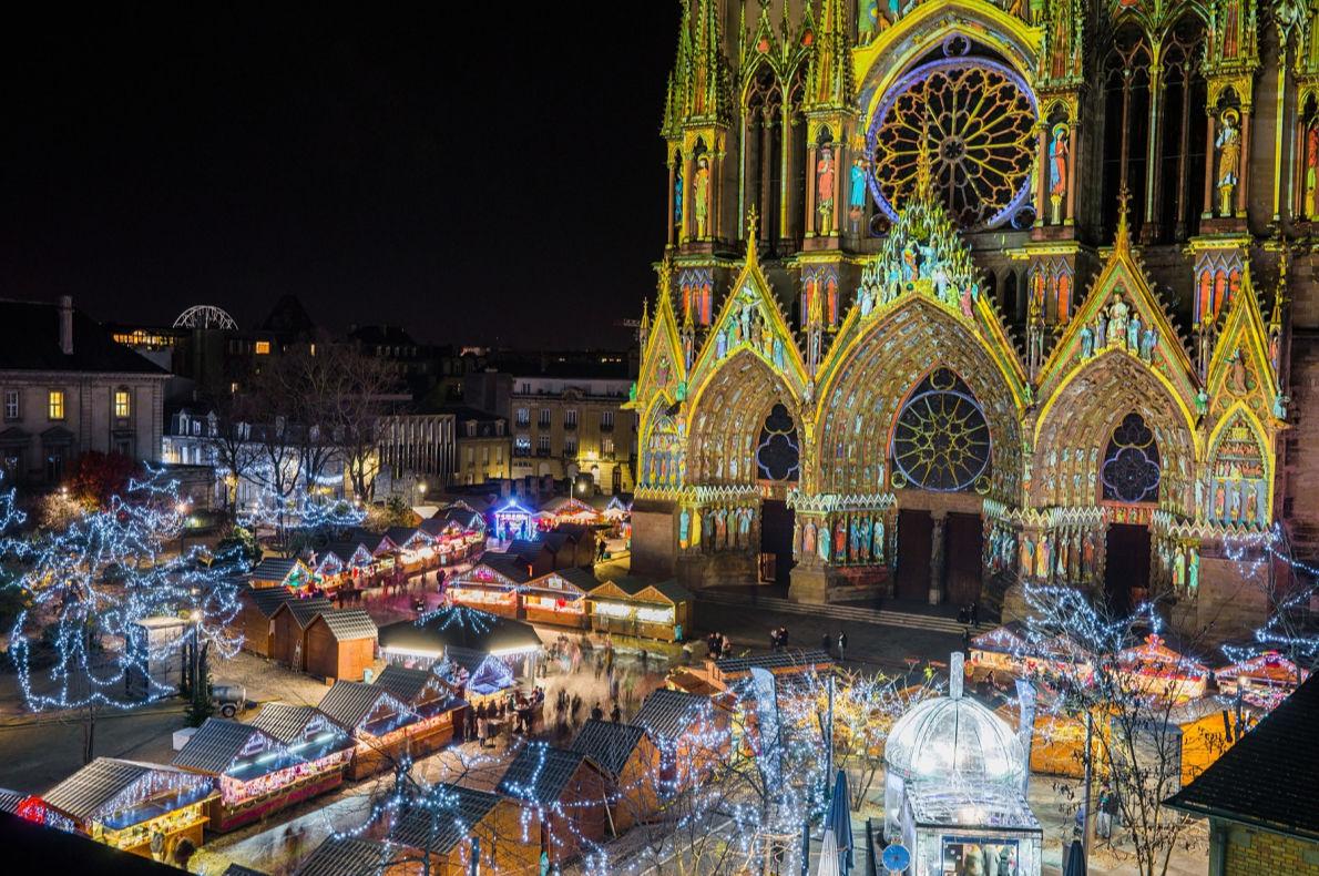Reims Christmas Lights - Best Christmas Lights in Europe  - Copyright   - Cyril Beudot European Best Destinations