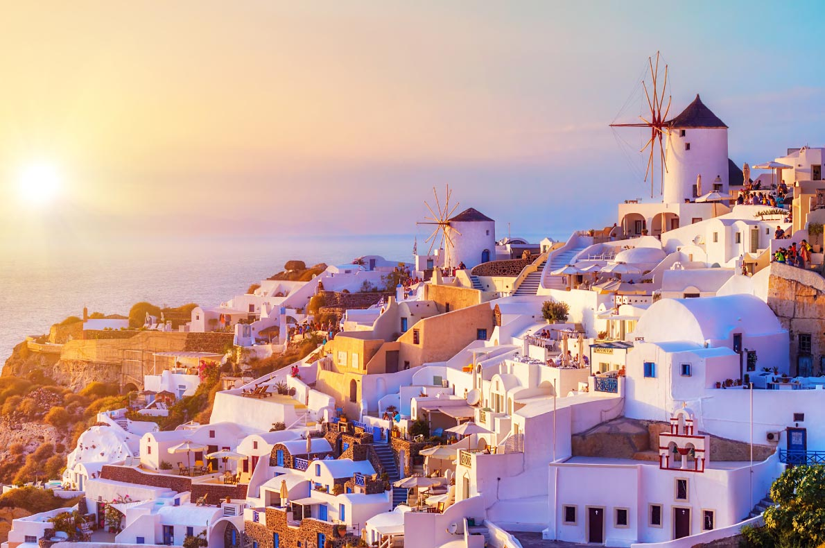 Best hidden gems in Greece - Oia Santorini Island - Greece Copyright  Mila Atkovska - European Best Destinations