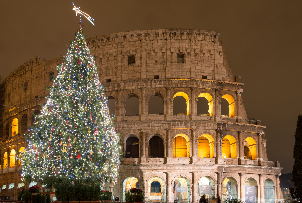 Rome - Best Christmas Tree in Europe - Copyright Matteo Gabrieli - European Best Destinations
