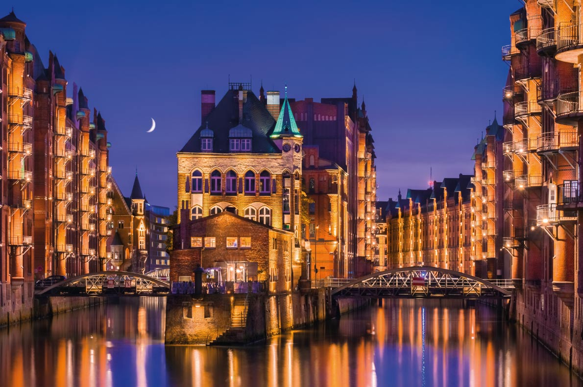 Quietest destinations in Europe -  Hamburg Copyright  foto-select 2