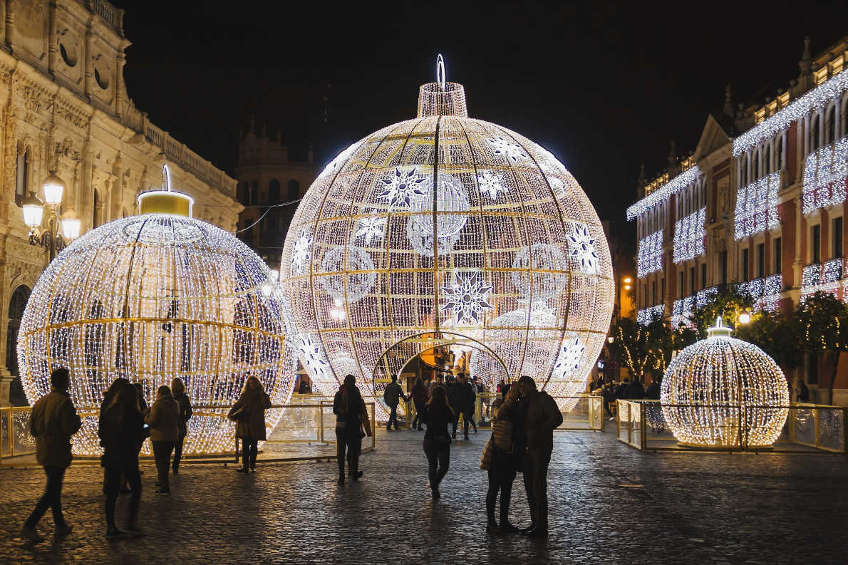 Best Christmas Markets in Spain - Seville Christmas Market Copyright  karnizz  - European Best Destinations