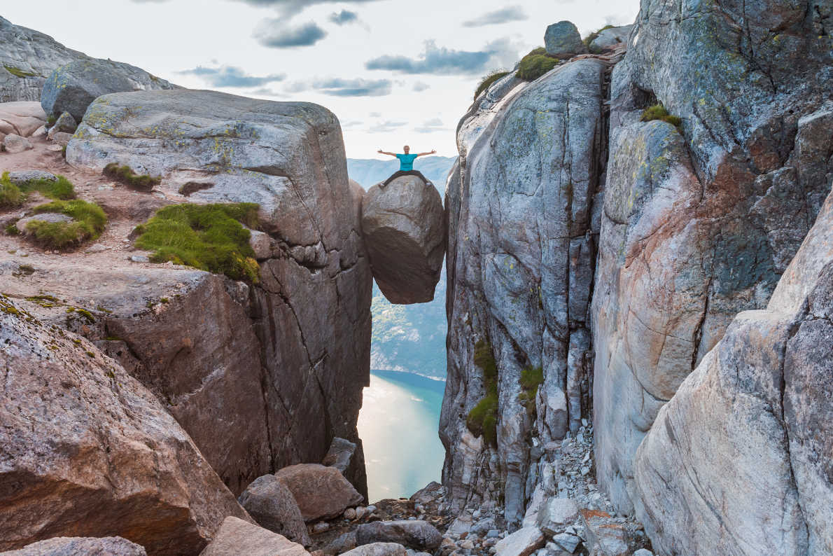 Kjerag in Norway  - Best trekking destinations in Europe - Copyright Kochneva Tetyana  - European Best Destinations