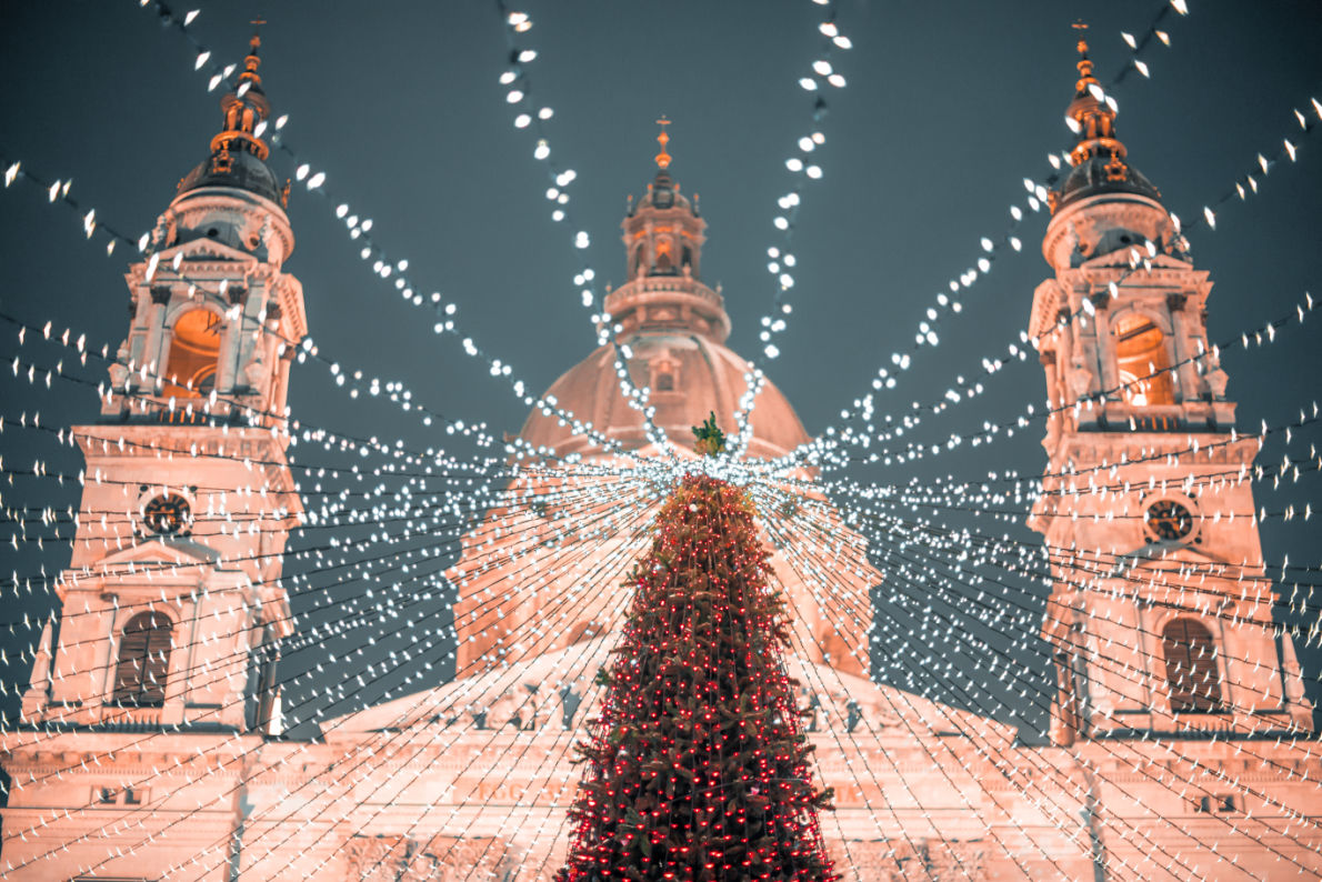 Budapest - Best Christmas Tree in Europe - Copyright Dmitry Pistrov  - European Best Destinations