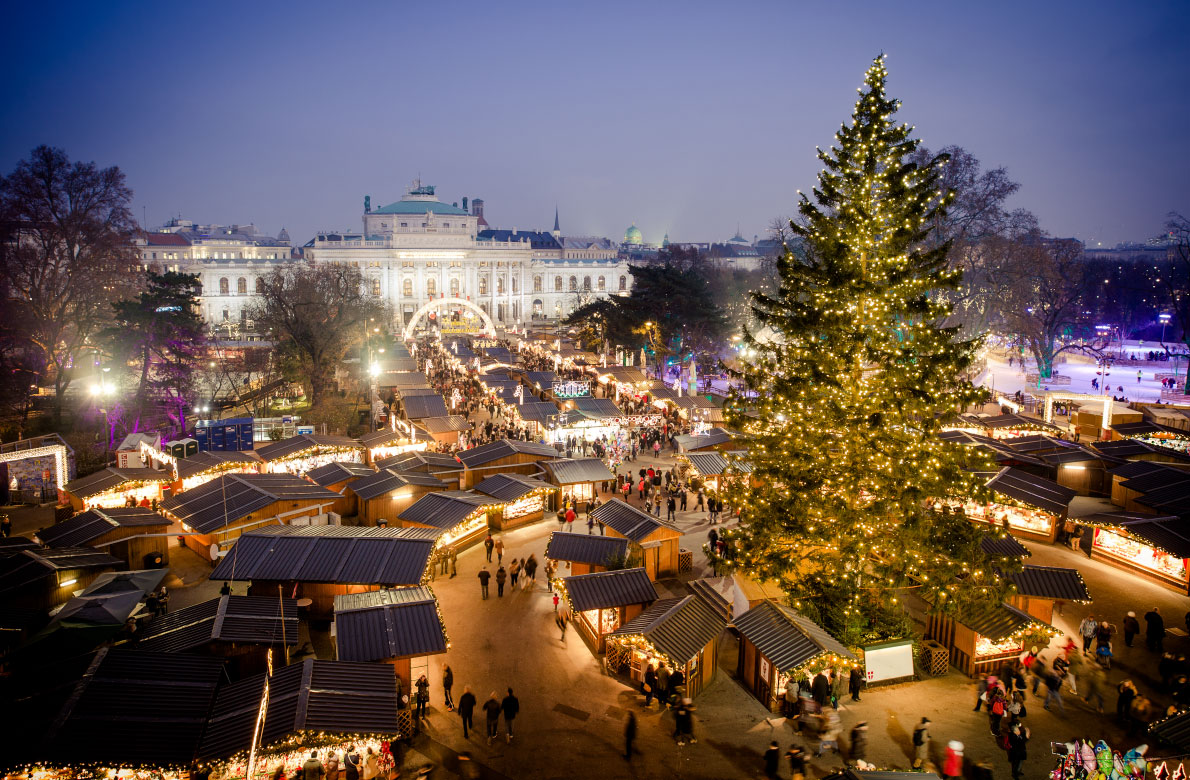 vienna best christmas market in europe - Best European Cities For Christmas
