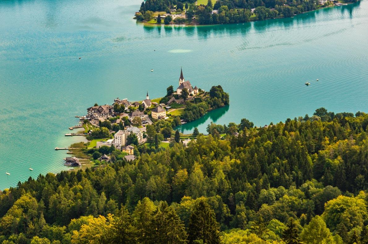 Best places to visit in Austria - Maria Wörth copyright Przemek Iciak - European Best Destinations