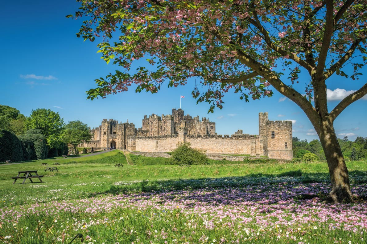 Alnwick Castle - Harry Potter - Best movie locations in Europe - Copyright mango-two-friendly  - European Best Destinations