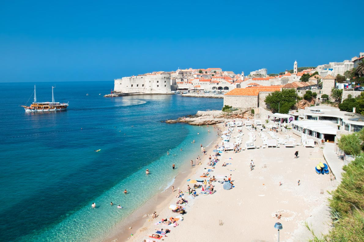 Best beaches in Croatia - Dubrovnik beach - copyright Aleksandar-Todorovic - European Best Destinations
