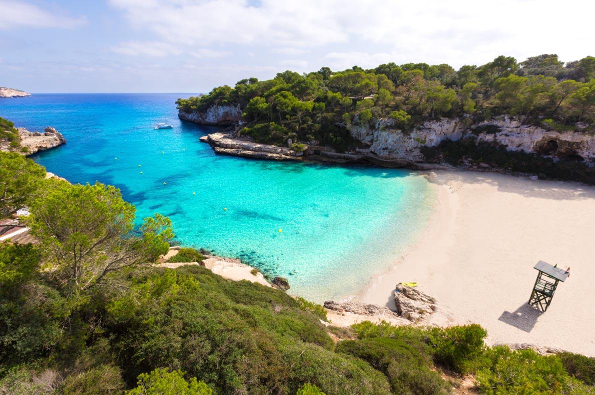 Best beaches in Spain - Cala Llombards in Mallorca - Copyright Holbox - European Best Destinations
