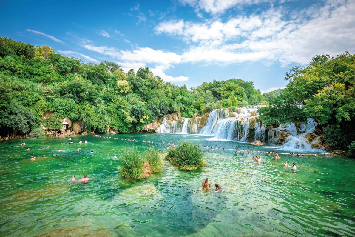 Krka - Best natural pools in Europe Copyright  Ajan Alen  Shutterstock.com - European Best Destinations