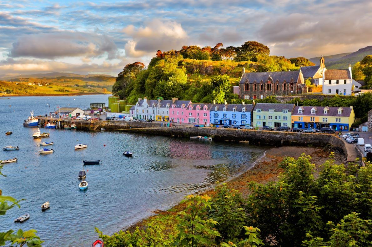 Best hidden gems in Scotland - Portree copyright  Nataliya Hora - European Best Destinations
