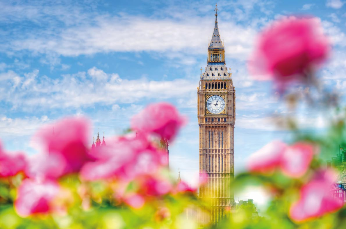 London - Best destinations for springtime in Europe - Copyright PHOTOCREO Michal Bednarek