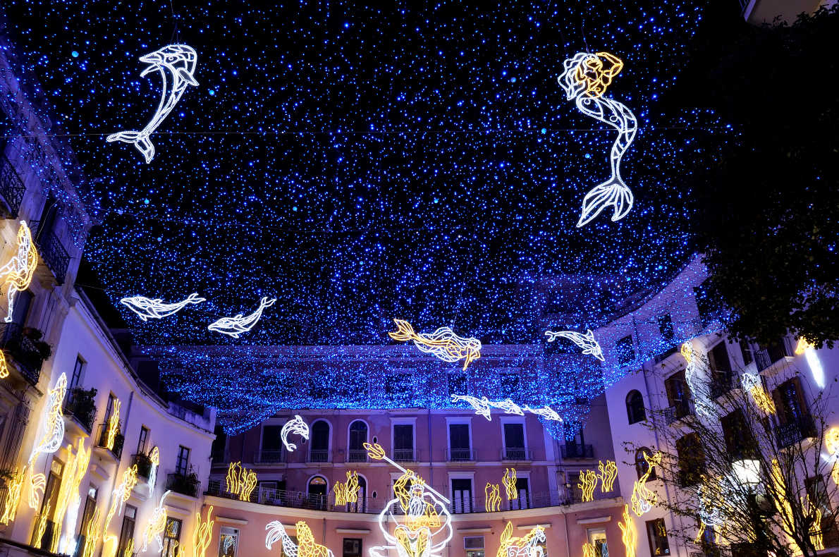 Salerno Christmas Lights - Best Christmas Lights in Europe  - Copyright Marco Crupi   - European Best Destinations