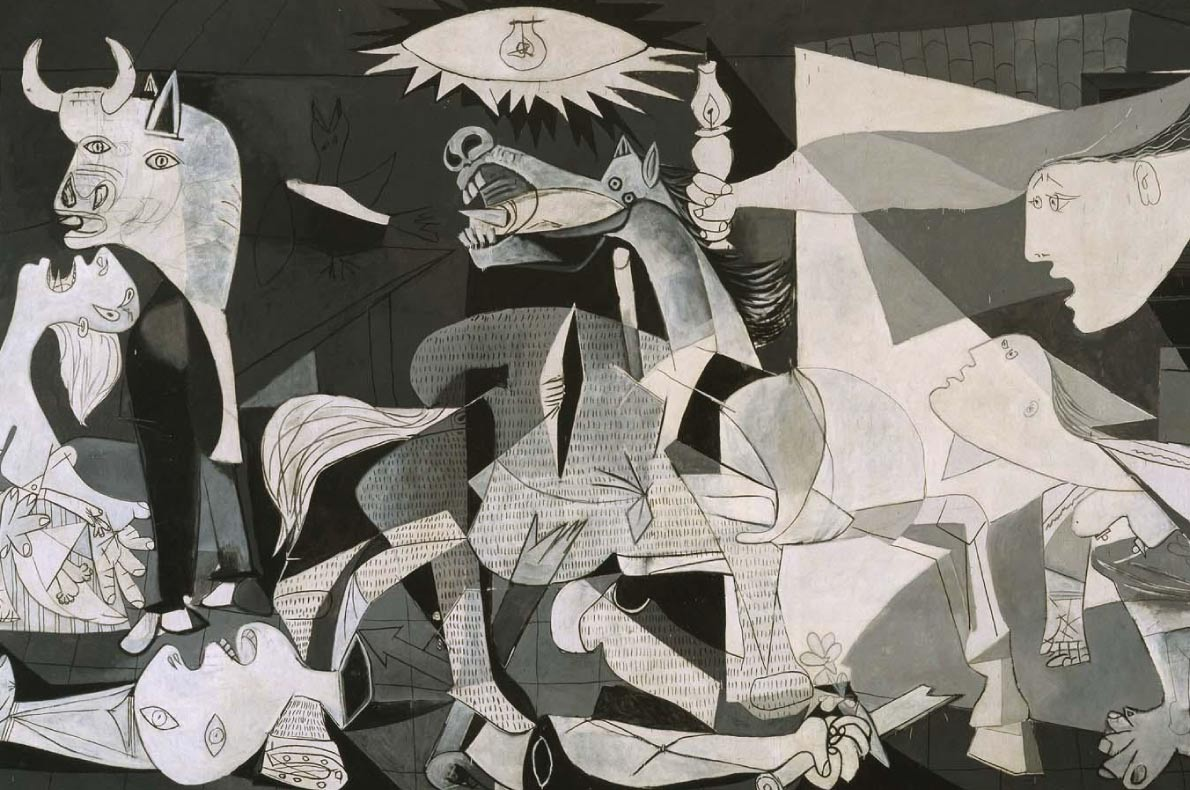 Unmissable paintings in Europe - Guernica - Picasso