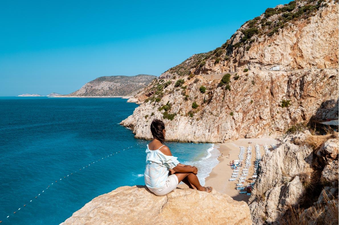 Best beaches in Turkey - Kaputas beach copyright  fokke baarssen - European Best Destinations