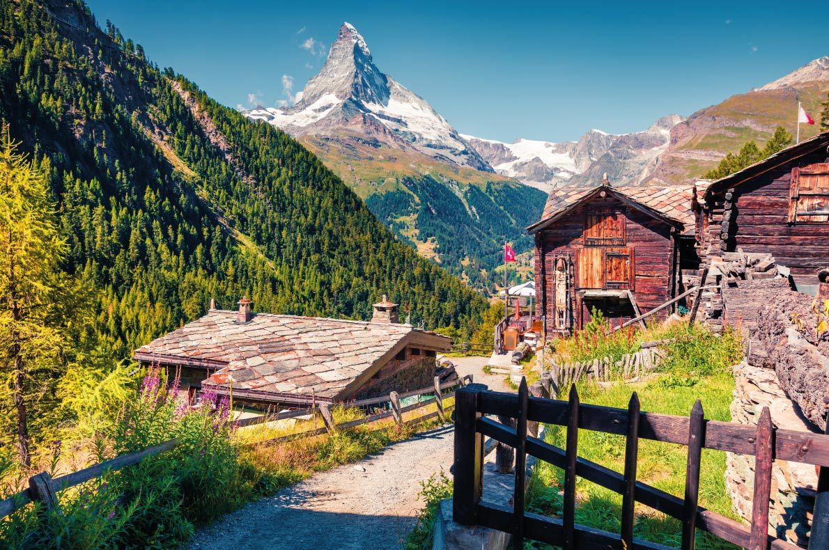 Most beautiful ski villages in Europe - Zermatt - CopyrightAndrew-Mayovskyy  - European Best Destinations