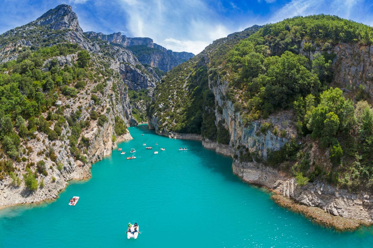Best things to do in France - Verdon Gorge copyright  Ivica Drusany   - European Best Destinations