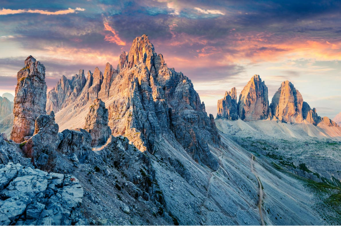 Best natural wonders in Italy - National Park Tre Cime Copyright  Creative Travel Projects  - European Best Destinations