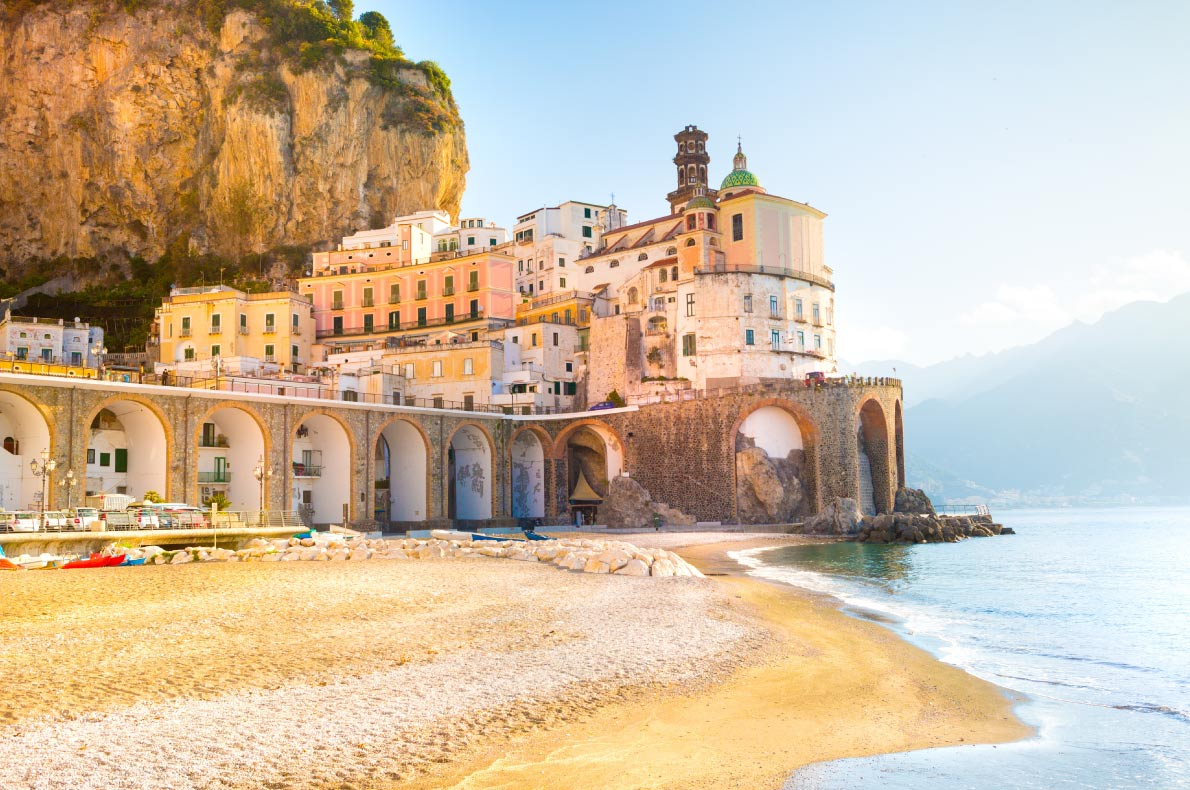 Best beaches in Europe -  Atrani Copyright  Oleg Voronische