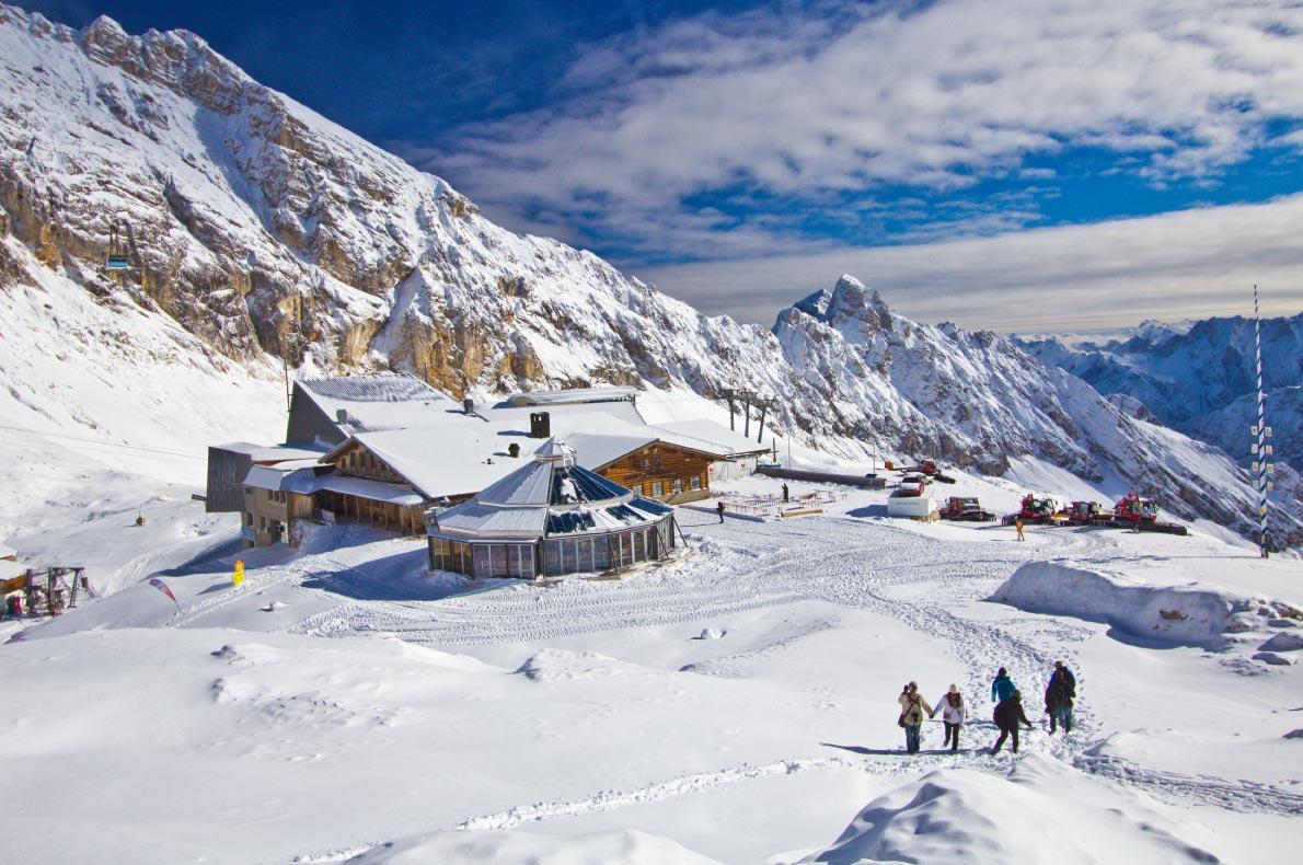 Best ski resorts in Germany - Garmisch-Partenkirchen   - Copyright Tipwarm - European Best Destinations