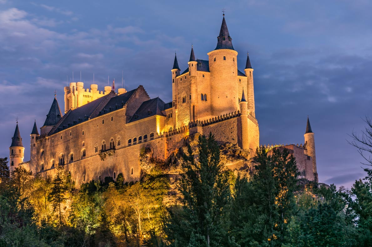 Best castles in Spain - Alcazar Castle in Segovia Copyright  Juan Enrique del Barrio - European Best Destinations