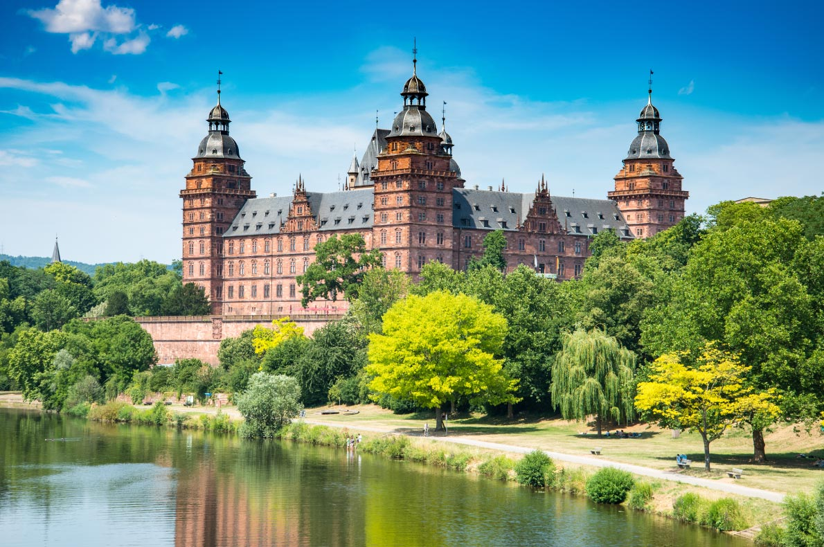 Best Castles in Germany - Frankfurt Johannisburg Palace copyright NaughtyNut  - European Best Destinations