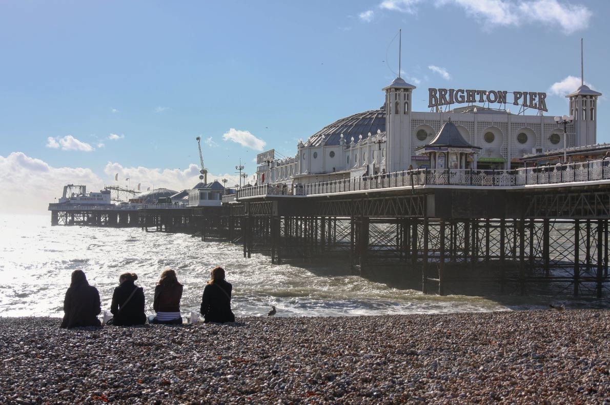 Best destinations for teenagers holidays in Europe - Brighton Copyright Natcha Charoenrath  - European Best Destinations