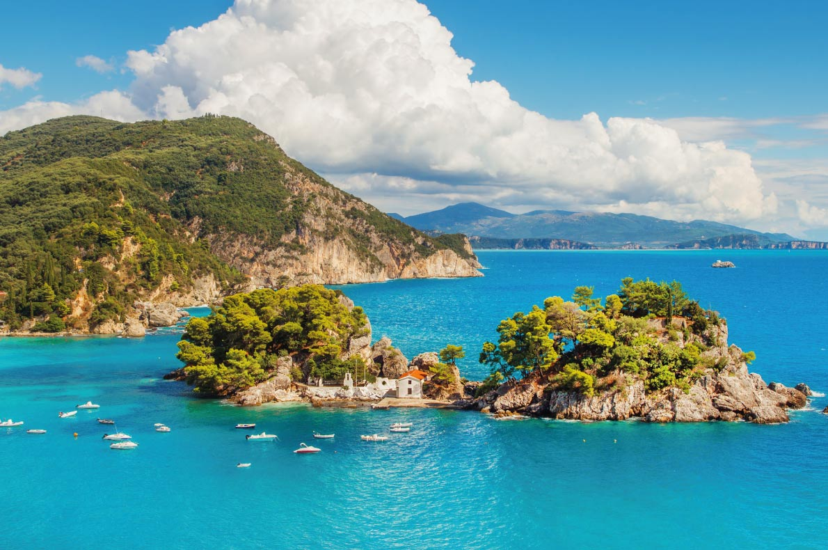 Islet of Virgin Mary in Parga - Best hidden gems in Europe - Copyright Mila Atkovska