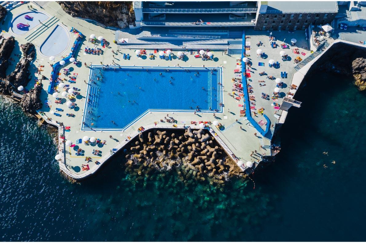 Madeira with Kids -  Lido Pool - Copyright  Cicero Castro