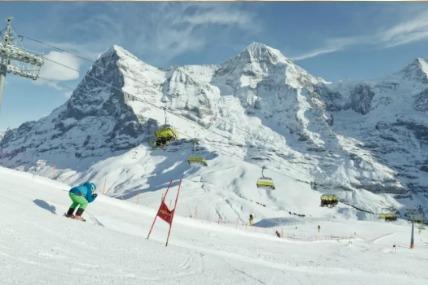 Lauberhorn race Jungfrau