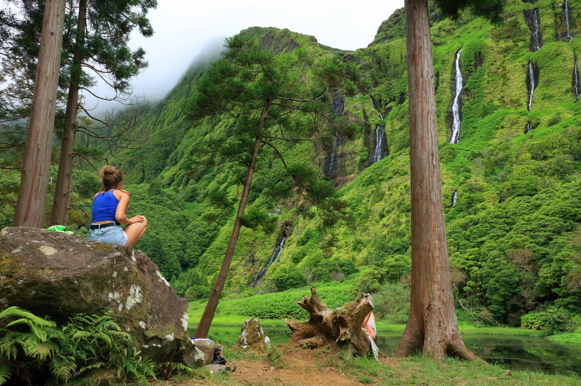 Best Sustainable destinations in Europe - Azores - Flores - Pozo Ribeira do Ferreiro copyright Mikadun    - European Best Destinations