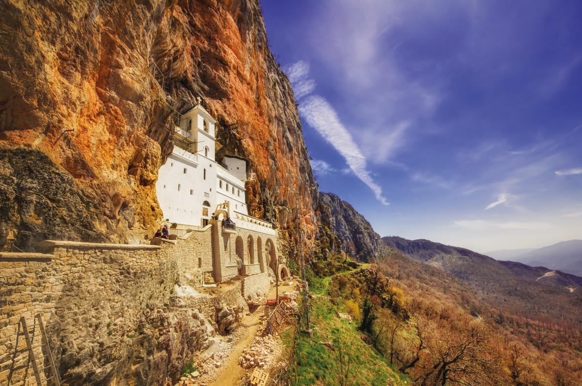 Ostrog - Best trekking destinations in Europe - Copyright Mila Atkovska - European Best Destinations