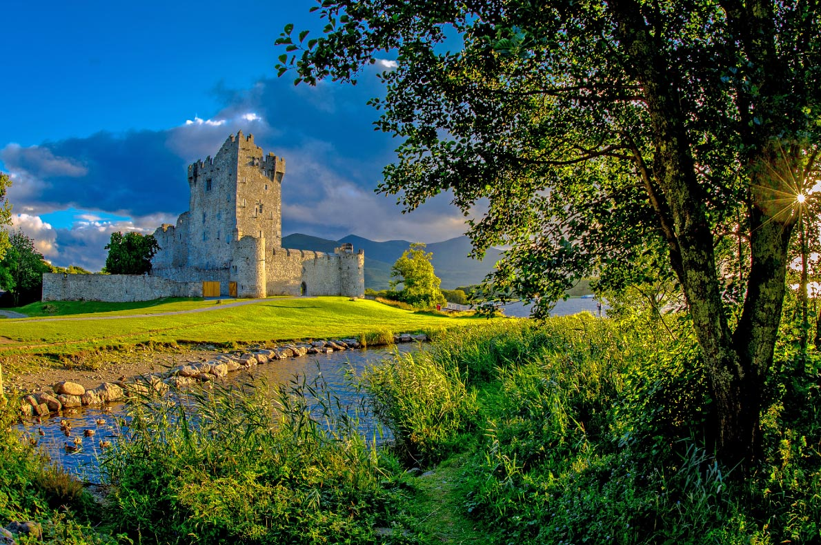 Best castles in Ireland - Ross Castle copyright  Lyd Photography - European Best Destinations