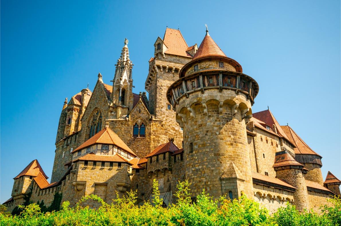 Best castles in Austria - Kreuzenstein Castle - copyright  Lipskiy - European Best Destinations